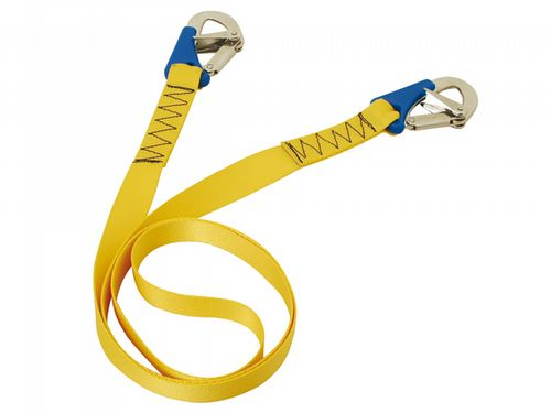 Double (2) Hook Boat Safety Line - Deck Boat Fasten Harness Cord Lifejacket Yacht
